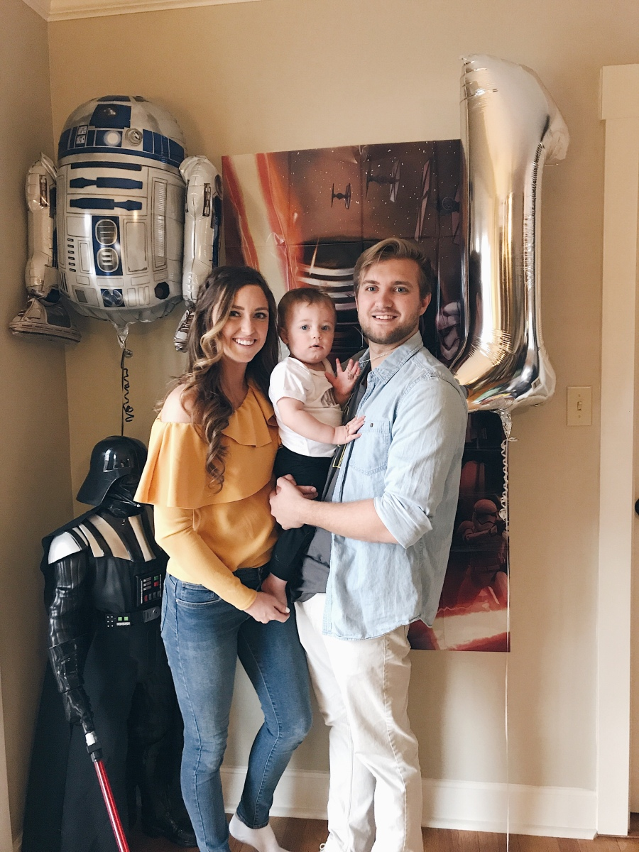 Baby's First Birthday- Star Wars Style