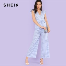 SHEIN-Ruffle-Trim-Tie-Waist-Bow-Striped-Pocket-Jumpsuit-2018-Women-Blue-Deep-V-Neck-Cap.jpg_640x640.jpg